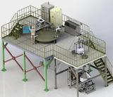 Rotary Disc Centrifugal Atomization Powder Manufacturing Production Line