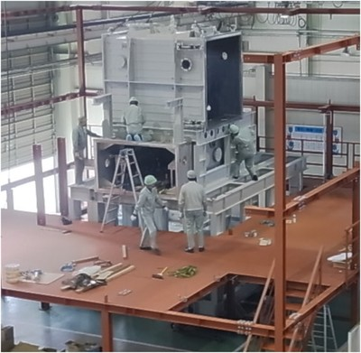 Quenching Amorphous Powder Production Line (Sino-Japan Cooperation)