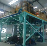 High-pressure water atomization preparation powdered material production line